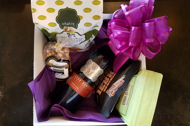Moving Mountains' gift basket filled with locally-sourced treats was the icing on top of a warm welcome.  - © Eric Schmidt