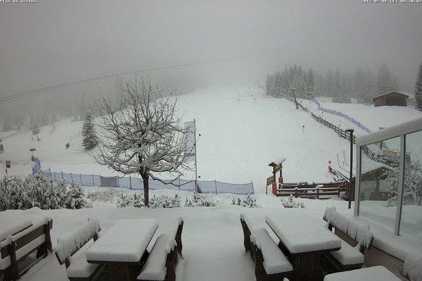 Dove sta nevicando? Webcam in direttaVal Gardena