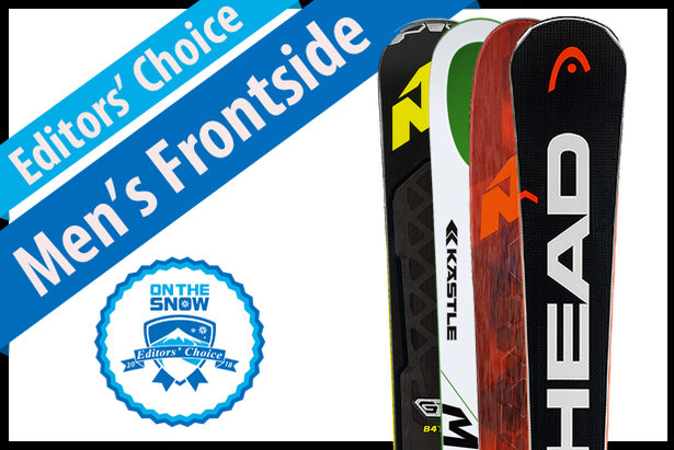 The best men's Frontside skis for 2017/2018.