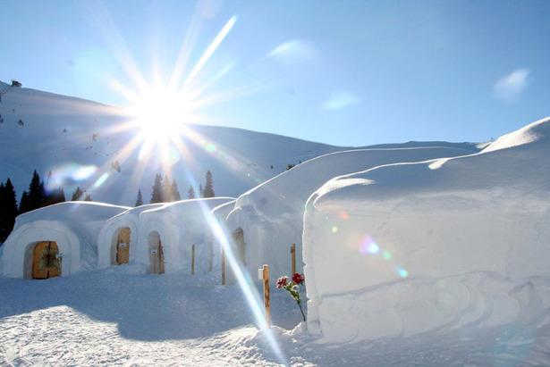 ALPENIGLU® -Dorf Panorama Ansicht