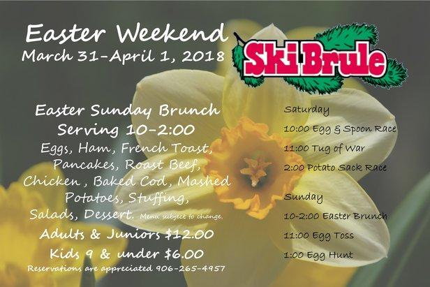 Easter Weekend- ©Ski Brule