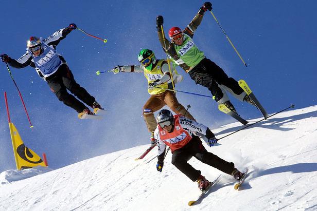 Ski-Cross in den Sextner Dolomiten