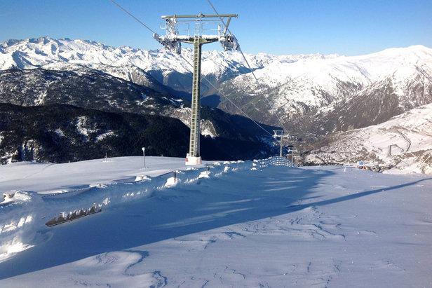 30 km de pistes skiables dès ce week-end à Baqueira- ©Facebook Baqueira Beret