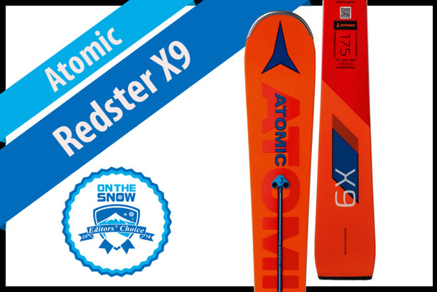 Atomic Redster X9, men's 17/18 Technical Editors' Choice ski.