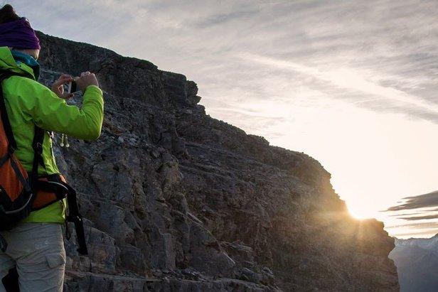 Auf der Serles hat man einen tollen Panoramablick - ©© Tirol Werbung/Emanuel Kaser