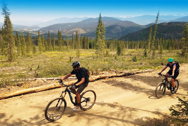 Breckenridge's variable trail system can be accessed from downtown and caters to all skill levels.   - © James Robles