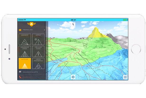 OnTheSnow používa FATMAP  3D mapy zjazdoviek mnohých lyžiarskych stredísk 7eea9d49446