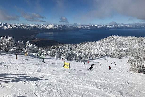 10 Biggest Ski Resorts in North America ©Heavenly