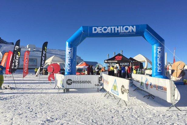 Le High Test by Decathlon est de retour aux 2 Alpes les 28 et 29 octobre 2017