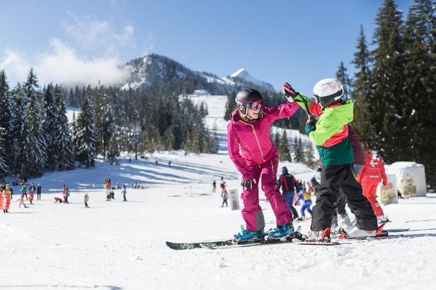 Kinderland im Skigebiet Garmisch Classic