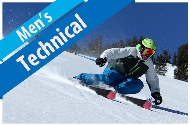 men s technical ski buyers guide 17 18 rh onthesnow com Alpine Skiing Buying Skis Chart