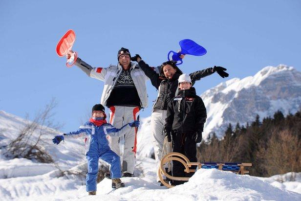 Montagna a misura di bambini: i parco giochi sulla nevi della Paganella- ©Ph: Tonina per Visitdolomitipaganella.it