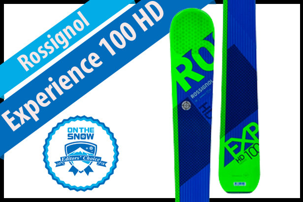 Rossignol Experience 100 HD: Men's 17/18 All-Mountain Back Editors' Choice Ski- ©Rossignol