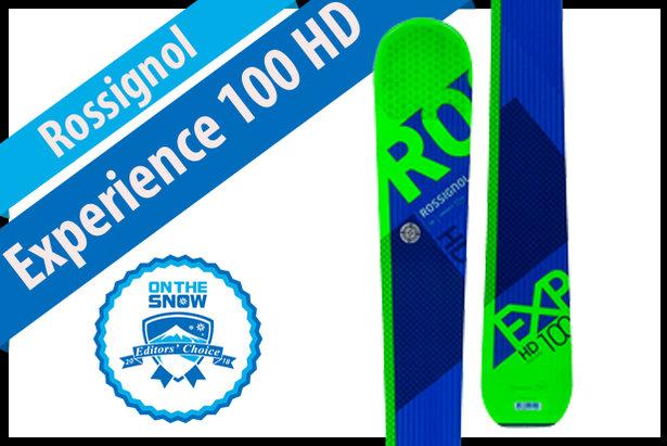Rossignol Experience 100 HD, men's 17/18 All-Mountain Back Editors' Choice ski.