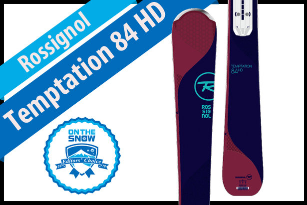 900517e1f3 Rossignol Temptation 84 HD  Women s 17 18 Frontside Editors  Choice Ski