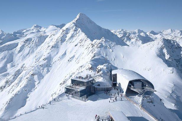 Sölden (1.350 - 3.340 metrów) -  restauracja ice Q na Gaislachkogl   - © Tirol Werbung