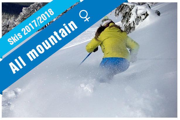 Fiches techniques et présentation des skis All Mountain 2018 (modèles femmes)