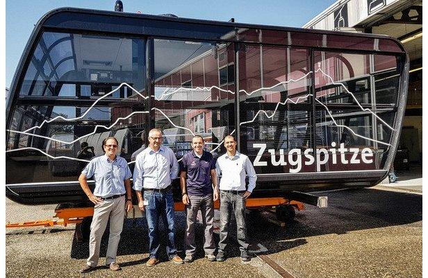 So sehen die Gondeln der neuen Seilbahn auf die Zugspitze aus  - © http://zugspitze.de