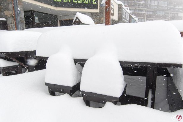 Jusqu'à 1 mètre de neige sur les Alpes- ©Val Thorens/Facebook