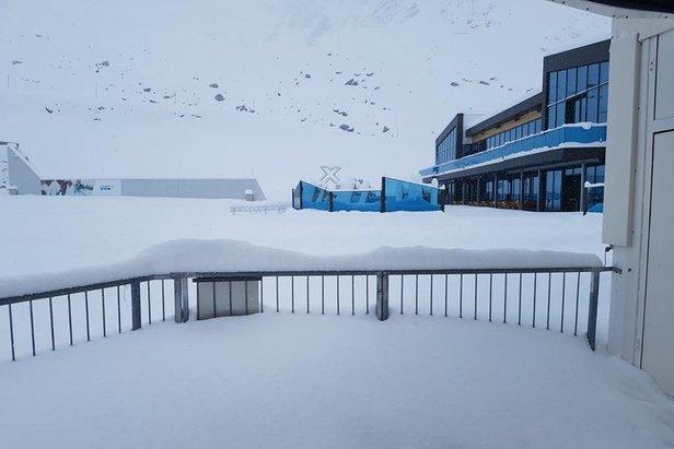 Sölden przyspiesza start pozalodowcowej części ośrodka- ©Sölden Facebook