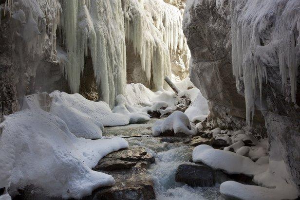 Aanrader: winterse wandeling Partnachklamm- ©Martin Wackerzapp