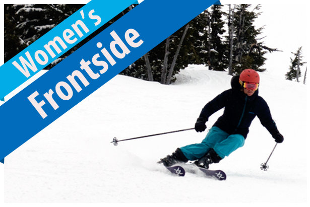 Women's Frontside Ski Buyers' Guide 17/18- ©Jim Kinney, courtesy of Masterfit Media