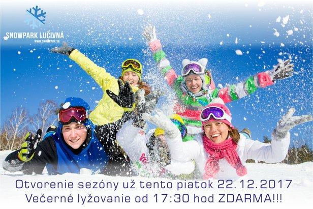 Oficiálne otvorenie lyžiarskej sezóny ve Snowparku Lučivná 23.12.2017 ©Miroslav Šukola