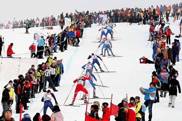 Skilanglaufen wie die Profis in Val di Fiemme