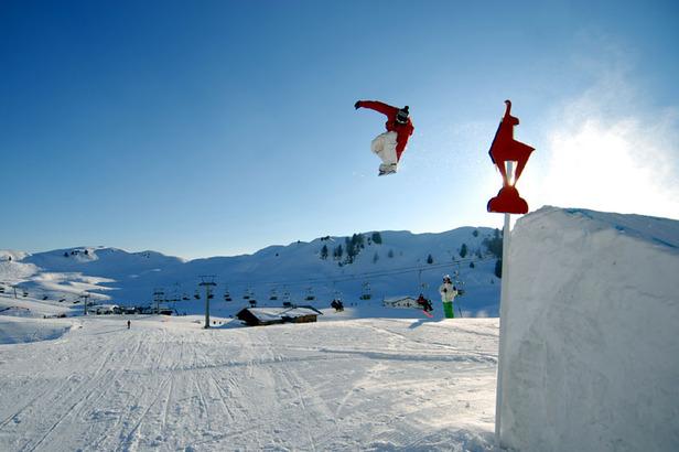 Snowboard-Freeski in Kitzbühel