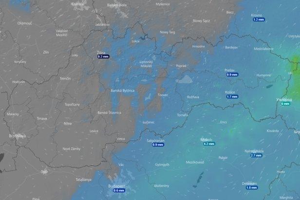 Animowana mapa pogody na najbliższe 10 dni- ©Windy.com