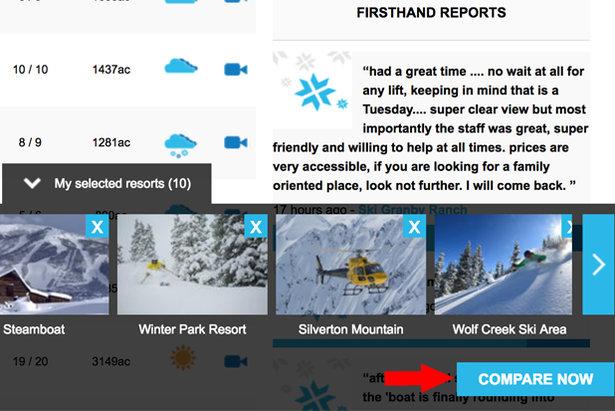 Compare Ski Resorts
