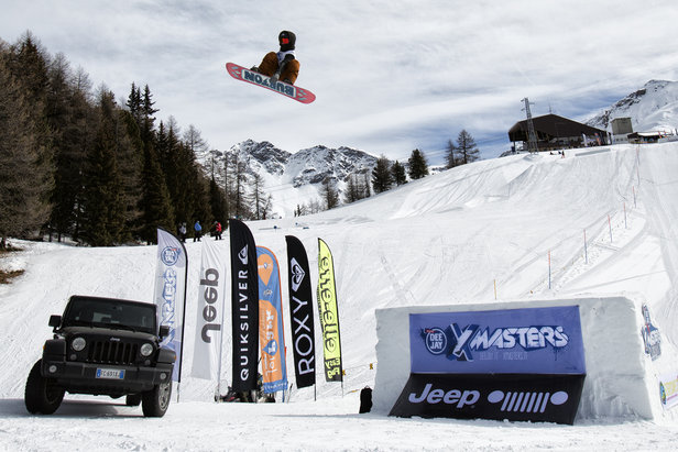 Il DEEJAY Xmasters Winter Tour arriva a Livigno- ©www.xmasters.it
