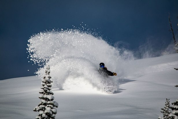 The Powder Is Stacking up in Jackson Hole- ©Jackson Hole