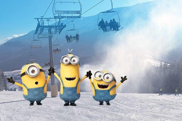 Jarné prázdniny v Strachan Ski centreStrachan Ski Centrum