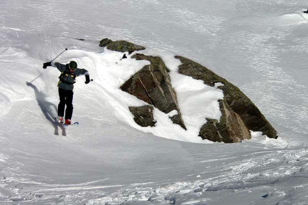 Les Menuires: Skifahren mit besonderer Note