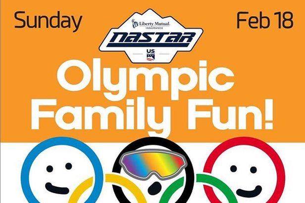 Olympic Family Fun Day with Free NASTAR Racing  ©Ski Sundown