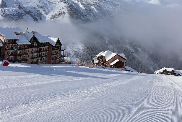 Toute la station de Valmeinier a hâte d'accueillir les skieurs qui auront la chance de tester les pistes en avant-première ! Il est donc temps de farter les skis !!!