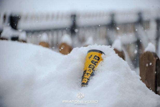 Weerbericht: heerlijk wintersportweer, na het weekend opnieuw sneeuw- ©Prato Nevoso Ski Facebook