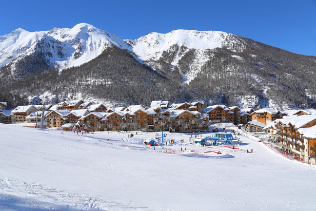 Vacances au ski en résidence au pied des pistes des Orres...