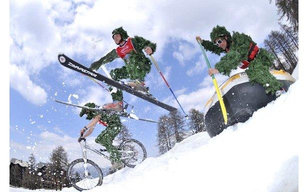Ski, vtt et raft au programme de la Risoul Dévale- ©Risoul Devale