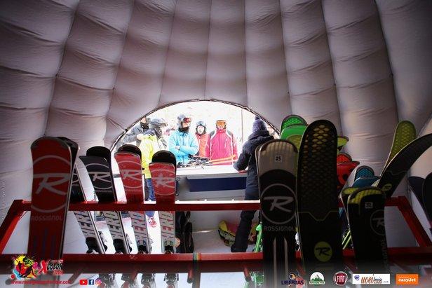 Rossignol X Color Tour arriva a San Martino di Castrozza (17-18 Febbraio)  - © Rossignol X Color Tour