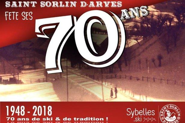 Saint Sorlin d'Arves fête ses 70 ans