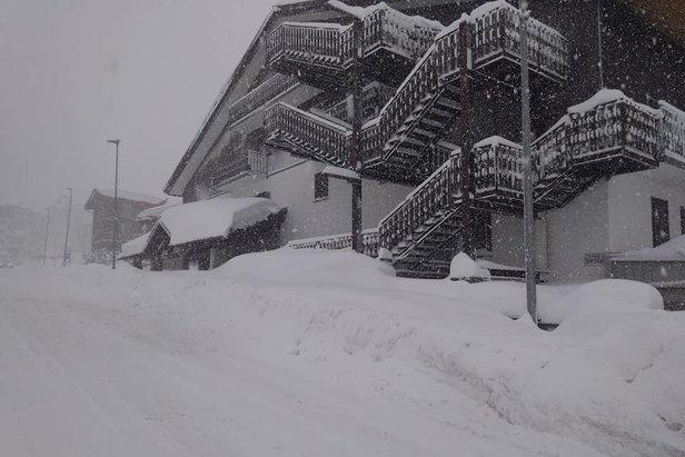 I video dell'eccezionale nevicata a Sestriere- ©Ph. Lisetti G.