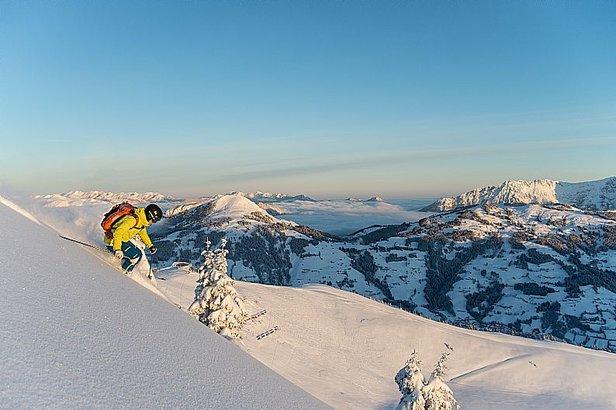 Největší rakouská lyžařská střediska: 2 – SkiWelt Wilder Kaiser - Brixental- ©SkiWelt Wilder Kaiser - Brixental, Fotograf: Tim Marcour