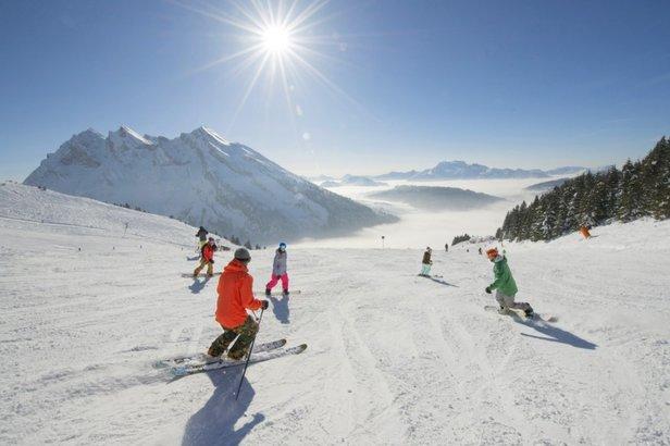 Sněhová předpověď: Další silné sněžení v Alpách i na českých horách! ©OT du Grand Bornand