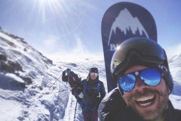 Snowboard instructor and hiking guide Antonio Tommasini   - ©  Antonio Tommasini