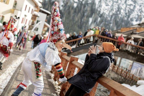 Carnevale ladino in Val di Fassa