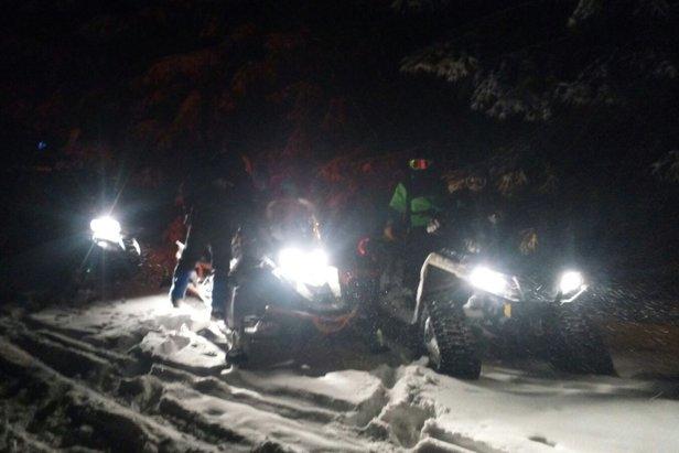 Záchranári pomáhali dvom zablúdeným lyžiarom- ©www.hzs.sk