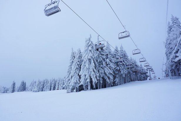 Zieleniec Ski Arena - styczeń 2018