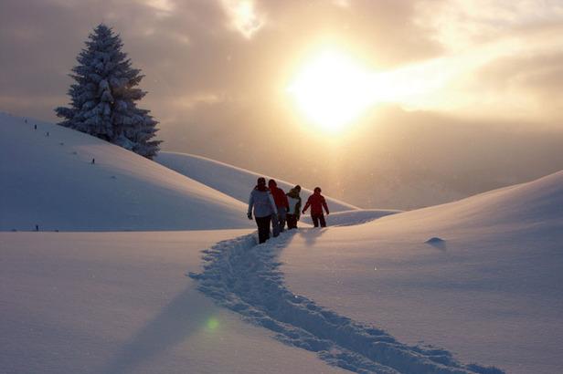 Schneeschuhwanderung im Kleinwalsertal